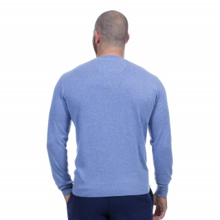 Pull bleu rugby