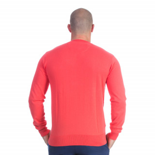 Pull rouge rugby