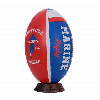 Ballon en pvc rugby marine taille 5