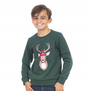 Découvrez ce magnifique sweat de Noël pour enfant signé Ruckfield.