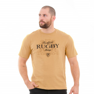 T-shirt manches courtes homme rugby héritage
