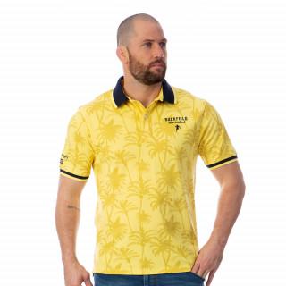 Polo jaune maori colors 100% coton.