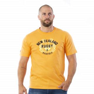 T-shirt manches courtes orange maori colors.