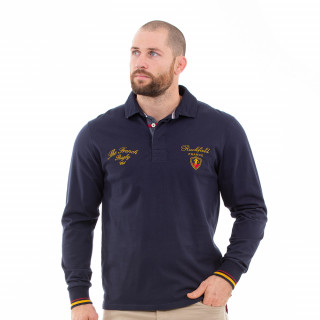 Polo manches longues homme French Rugby club