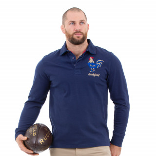 Polo manches longues French rugby club marine