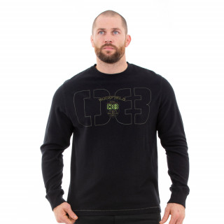 Sweat shirt homme noir Rugby Camps