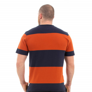 T-shirt orange rugby héritage