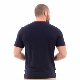 T-shirt vintage bleu rugby