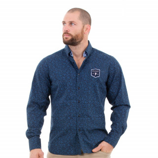 Chemise manches longues marine homme we are rugby
