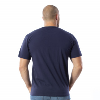 T-shirt à manches courtes bleu