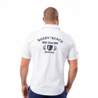 Chemise blanche beach rugby