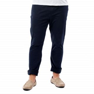 Pantalon homme chino marine en coton.
