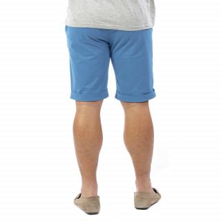 Bermuda homme chino bleu