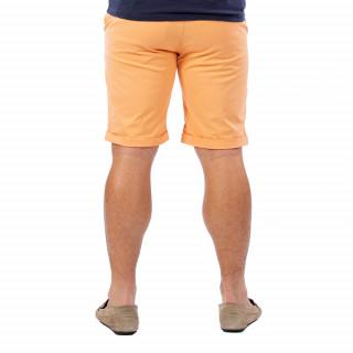 Bermuda homme chino orange