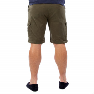 Bermuda homme cargo kaki