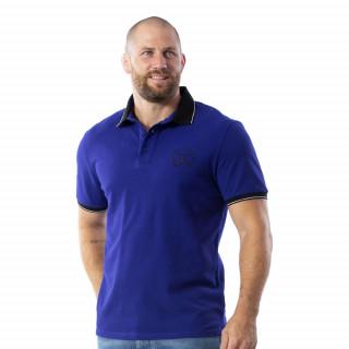 Polo Maori Rugby à manches courtes 100% coton piqué.