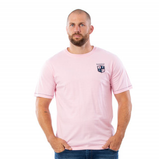 T-shirt rose We are rugby 100% coton jersey.