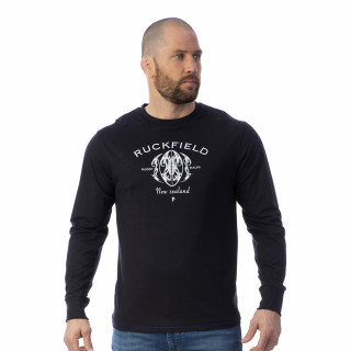 T-shirt manches longues Maori Rugby 100% coton jersey.
