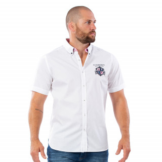 Chemise we are rugby blanche 100% coton.