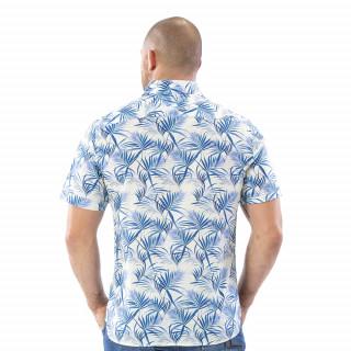Chemise Rugby à motifs feuilles de palmier