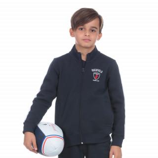Sweat zip enfant french rugby club
