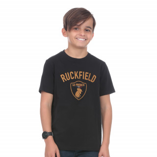 T-shirt manches courtes enfant French Rugby Club noir