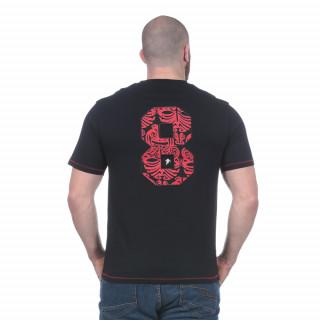 T-shirt noir Maori rugby