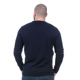 Pull essentiel bleu marine