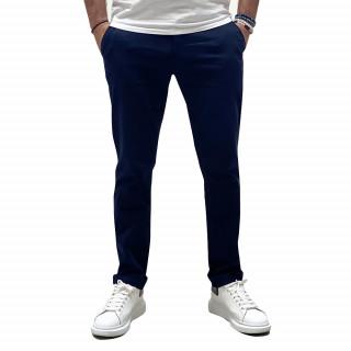 Pantalon chino essentiels marine poches latérales