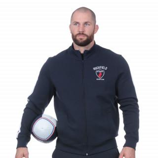 Sweat zippé marine French rugby club