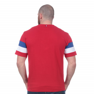 Tee-shirt manches courtes French Rugby Club rouge