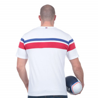 Tee-shirt blanc French Rugby club
