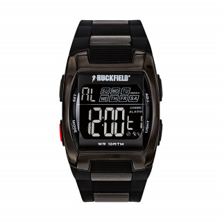 Montre digital black étanche