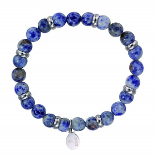 Bracelet rugby pierres sodalites