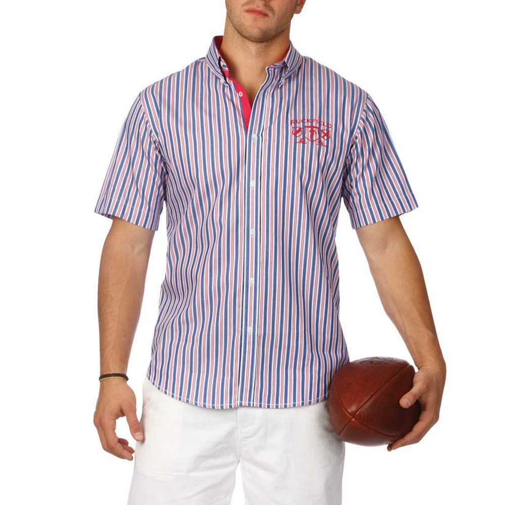 Rugby conquest striped shirt ruckfield for Pink and purple striped rugby shirt
