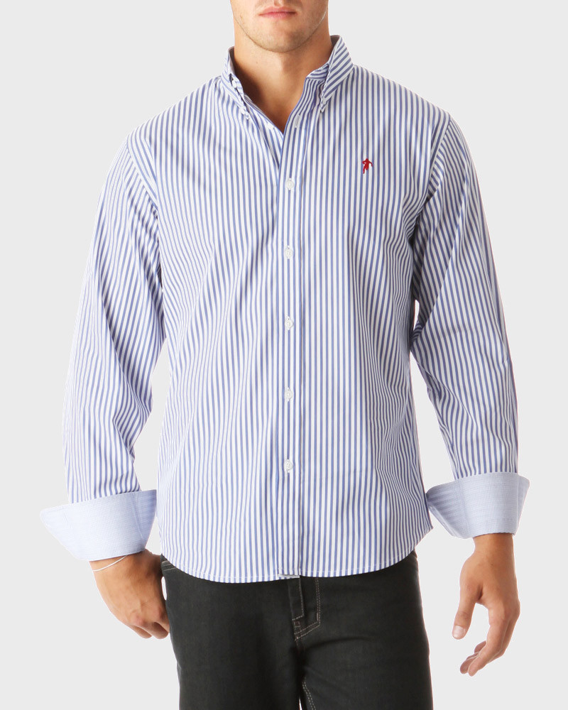 Rugby Essentiels Striped Shirt