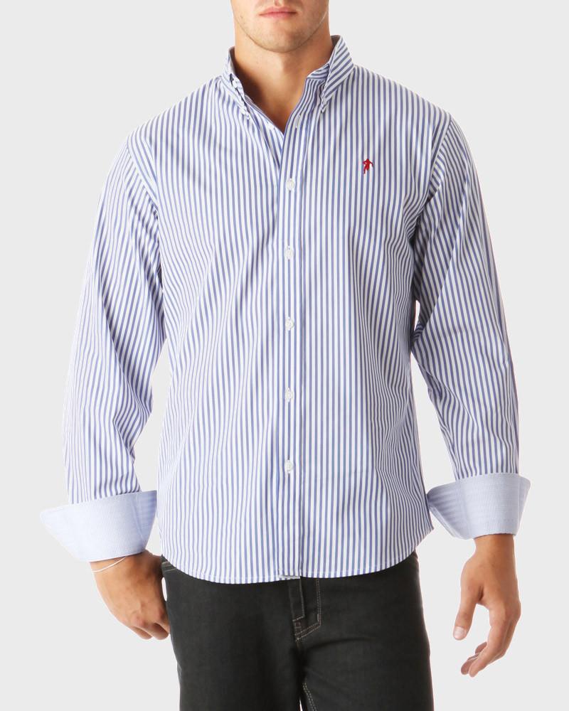 Rugby Essentiels Striped Shirt