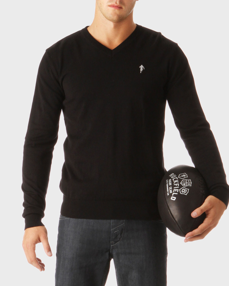 Rugby Essentiels V-Neck Pullover