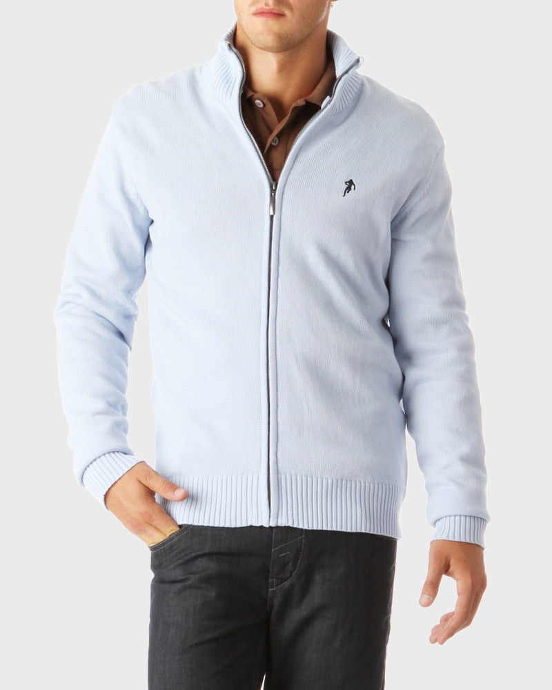 Rugby Essentiels Zipped Cardigan