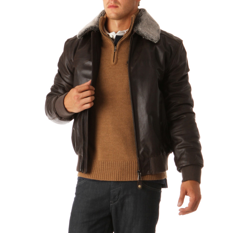 Rugby Collège Leather Jacket