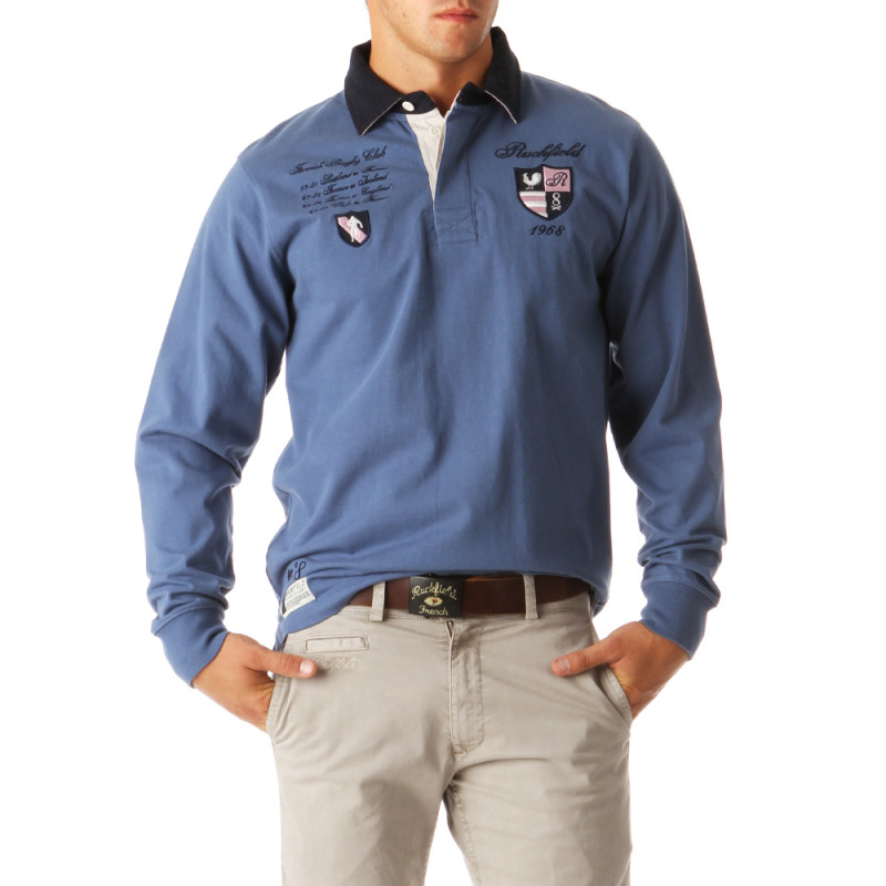 French Rugby Club Polo Shirt