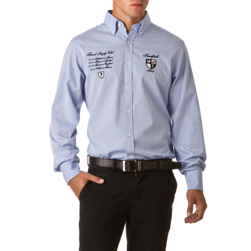 Classic Elbow-Patches Rugby Shirt