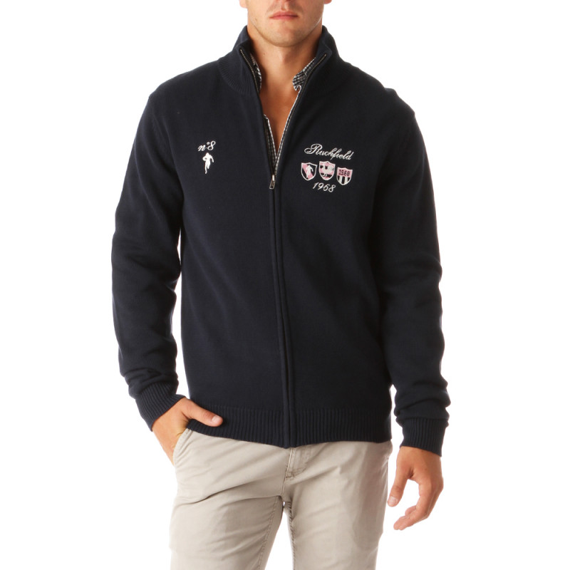Classic Rugby Zipped Cardigan