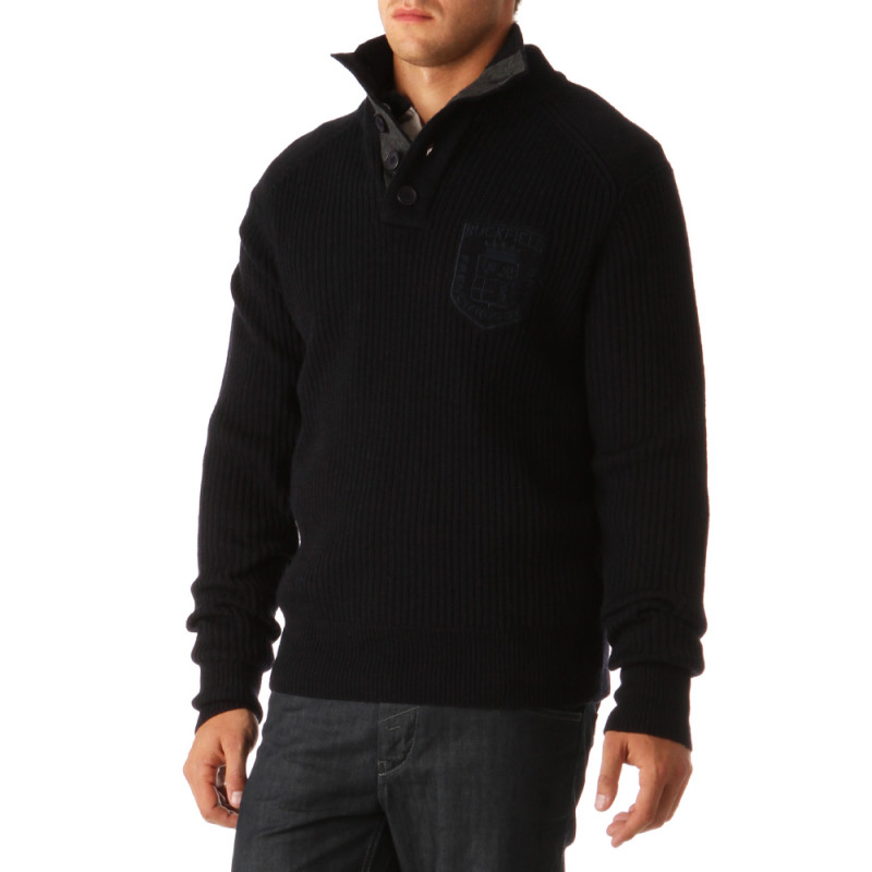 Softy Zip-Neck Rugby Pullover