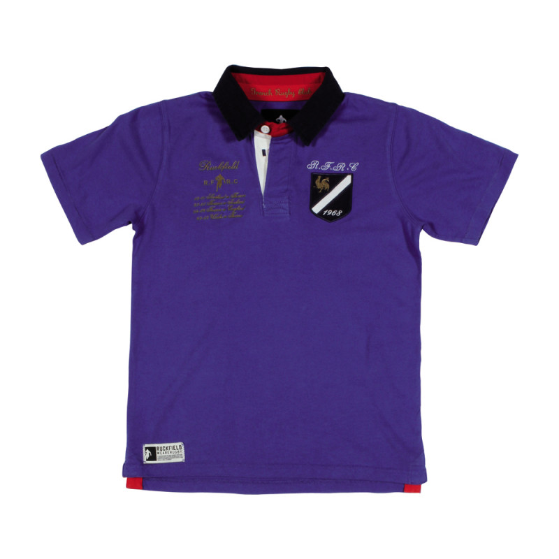French Rugby Polo Shirt