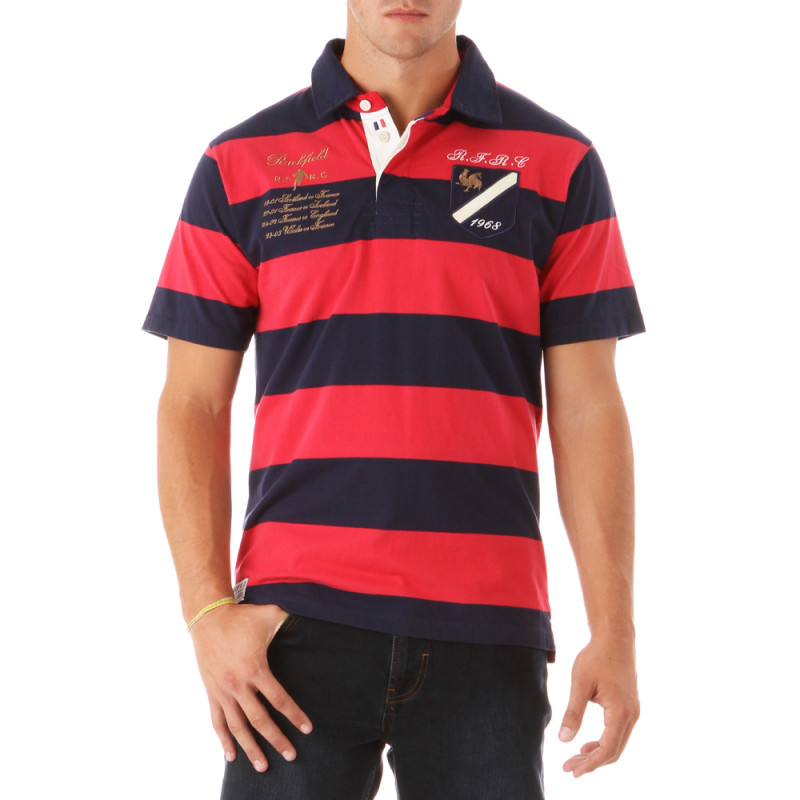 French Team Rugby Polo Shirt