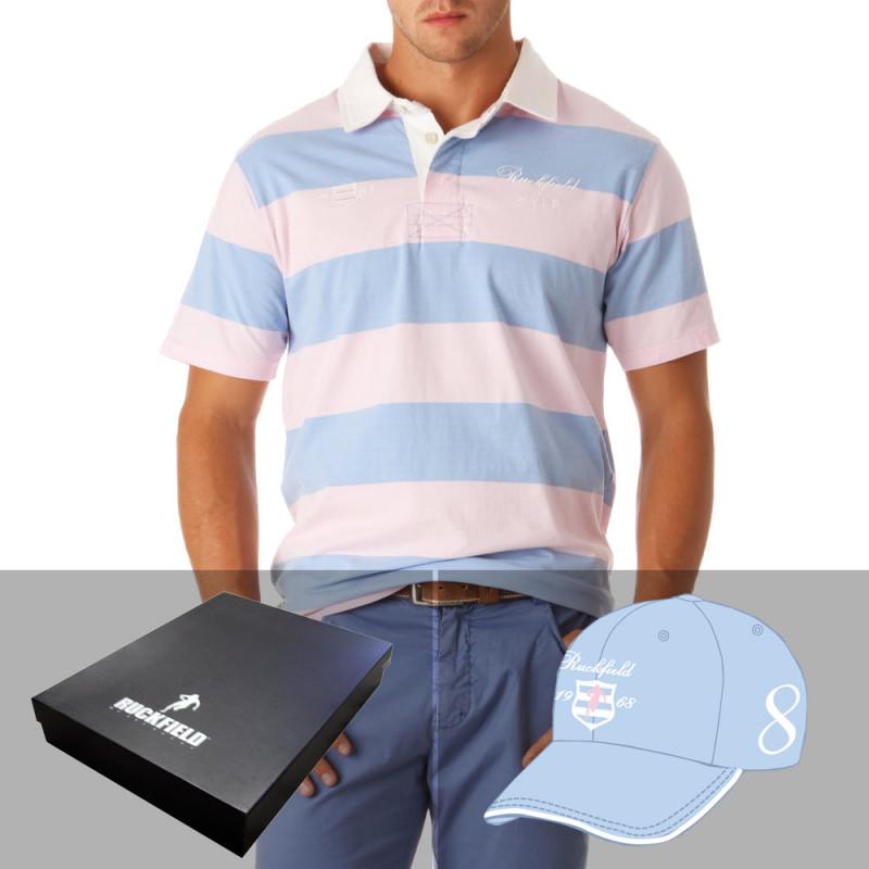 Polo + Cap Gift Box