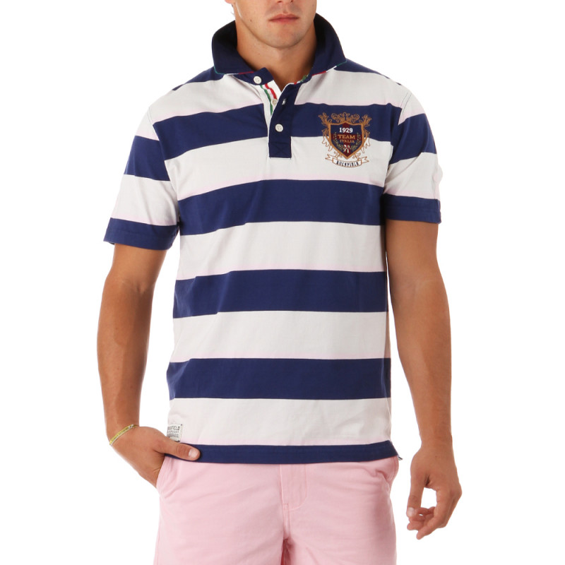 Rugby Polo Shirt Team Italy
