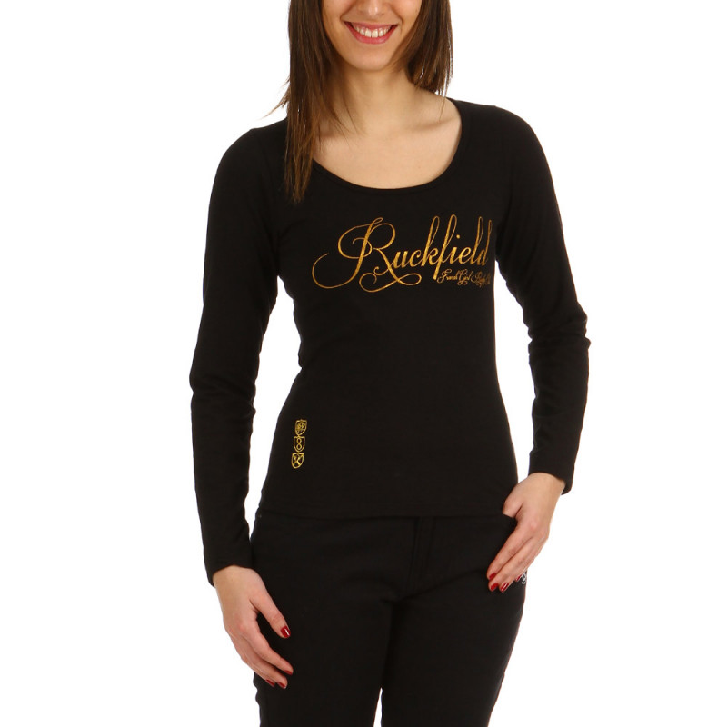 T-shirt rugby Gold