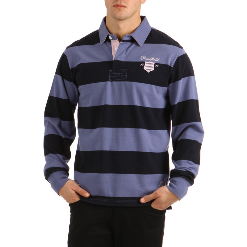 Striped Polo Classic Lavender